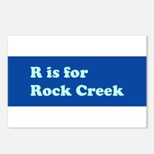 R is for Rock Creek Postcards (Package of 8)