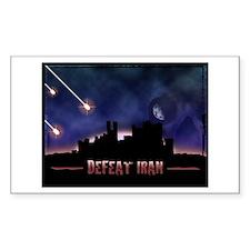 Defeat Iran Decal