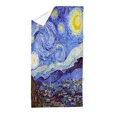 Starry Night Vincent Van Gogh Beach Towel