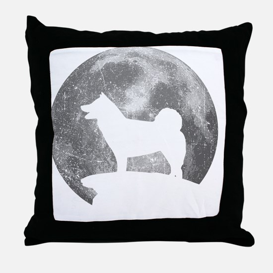 Cute Akitas Throw Pillow