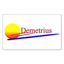 Demetrius Rectangle Decal