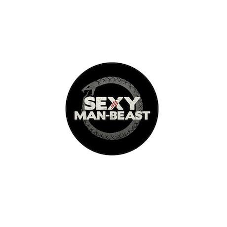 Hemlock Grove Sexy Man Beast Mini Button
