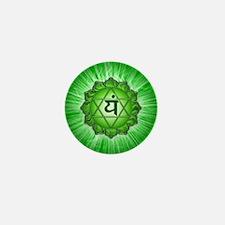 Heart Chakra Mini Button