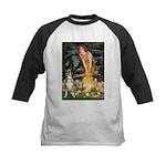 Fairies & Boxer Kids Baseball Jersey