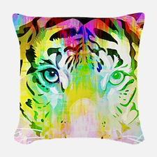 Tiger Mix #4, Woven Throw Pillow