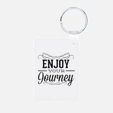 Enjoy Your Journey Keychains