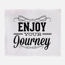 Enjoy Your Journey Stadium Blanket