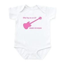 Baby on bass -  Infant Bodysuit