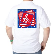 Curling American Style T-Shirt