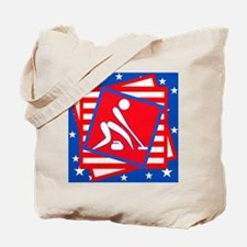 Curling American Style Tote Bag