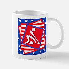 Curling American Style Mug