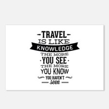 Travel Is Like Knowledge Postcards (Package of 8)