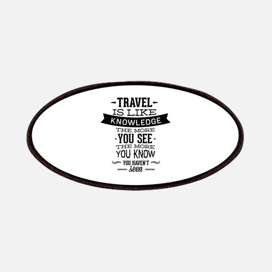 Travel Is Like Knowledge Patches