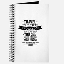Travel Is Like Knowledge Journal