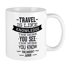 Travel Is Like Knowledge Mug