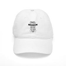 Travel Is Like Knowledge Baseball Cap
