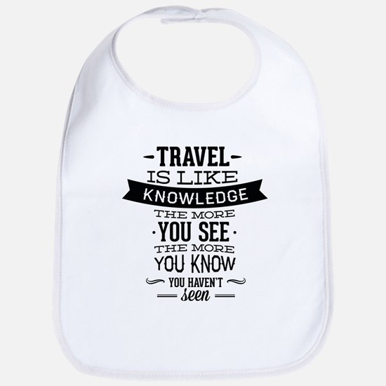 Travel Is Like Knowledge Bib