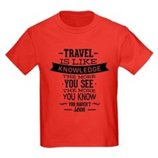 Travel Is Like Knowledge T