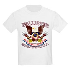 Hollister, CA Eagle 1868 Fadeout T-Shirt