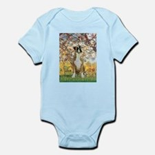 Spring with a Boxer Infant Bodysuit