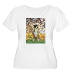 Spring with a Boxer T-Shirt