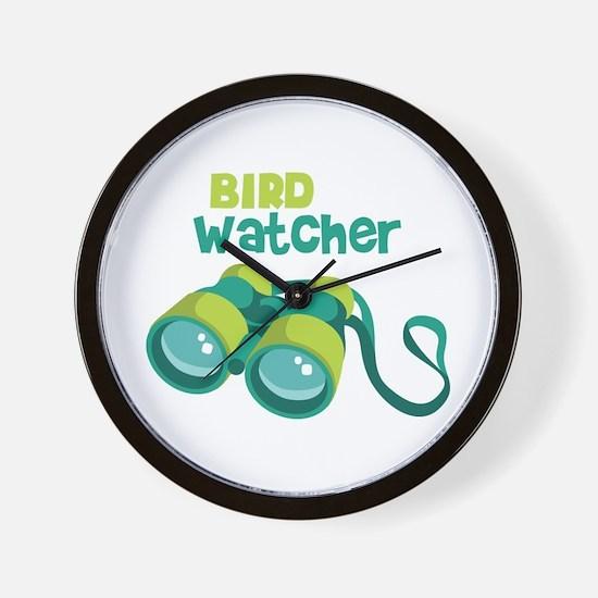Bird Watcher Wall Clock