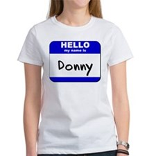 hello my name is donny Tee