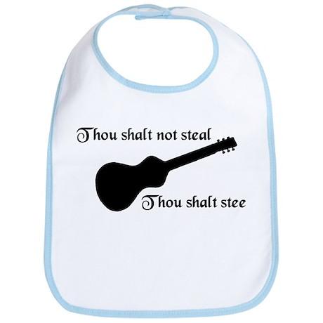 Thou shalt not steal Bib