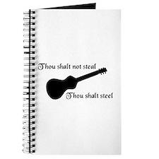 Thou shalt not steal Journal