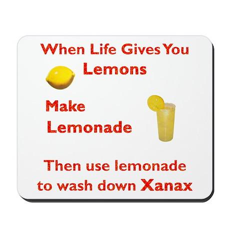 Lemonx Red Mousepad