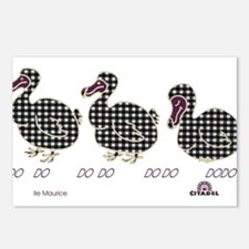 3 dodo Postcards (Package of 8)
