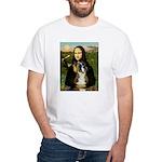 Mona & Boxer White T-Shirt