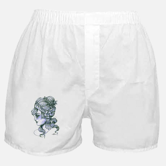 Gypsy Girl (transparent background) Boxer Shorts