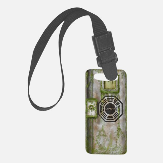 Lost Mossy Hatch Dharma Luggage Tag