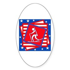 Biathlon American Style Decal