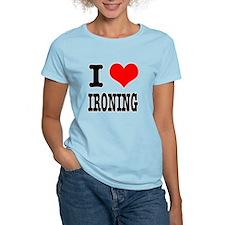 I Heart (Love) Ironing T-Shirt