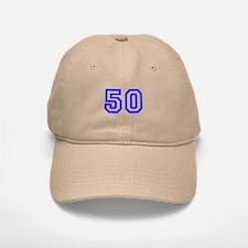#50 Baseball Baseball Cap