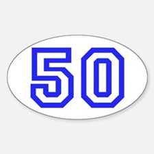 #50 Decal