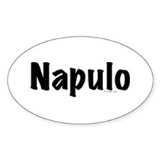 Napulo Oval Decal
