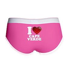 I Heart Cape Verde Women's Boy Brief