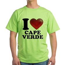 I Heart Cape Verde T-Shirt