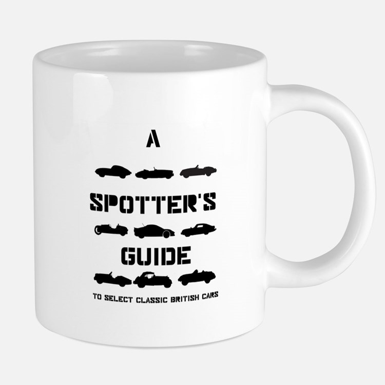 Spotter's Guide to Select Classic British Cars Mug