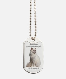 Birman Cat Dog Tags