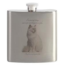Birman Cat Flask