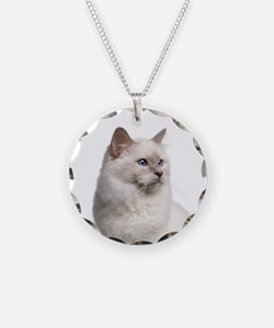 Birman Cat Necklace
