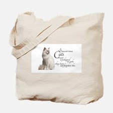 Birman Cat Tote Bag