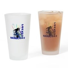 Free Running Parkour Hardcore Drinking Glass