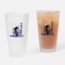 Free Running Parkour Hardcore Drinking Glass