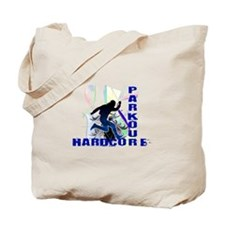 Free Running Parkour Hardcore Tote Bag