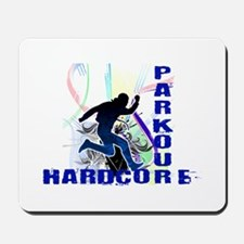 Free Running Parkour Hardcore Mousepad